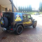 ball breakers vehicle wrap