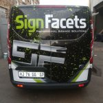 Sign Facets Car/ vehicle wrapping