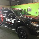 Dragon Vehicle Branding - Sign Facets