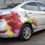 Sign Facets Car/ vehicle branding