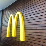 Sign Facets McDonalds LED sign branding