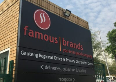 Famouse Brand Regional office