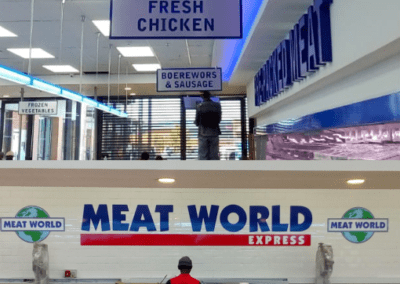 MEat world interior